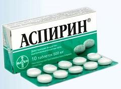 Аспирин Инструкция, Латинское название, Действующее вещество